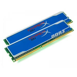 Kit Kingston DDR3 2x2Go - 1600Mhz